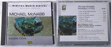 MICHAEL MCNABB Digital Music Invisible Cities .. Rare 1989 Teldec Wergo CD TOP