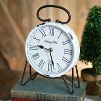Replica Vintage Time Tabletop Clock w/ Roman Numeral - Tabletop Decor  Special !