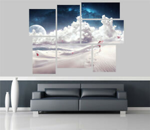 Japanese Bonsai Tree Fantasy Removable Self Adhesive Wall Picture Poster 1337
