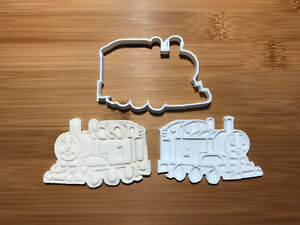Thomas The Train cars Cookie Cutter Fondant Cake Decorating Mold