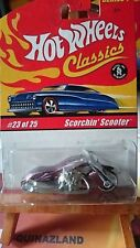 hot wheels Classics série 1 -23/25 Scorchin scooter Spectraflame violette (9991)