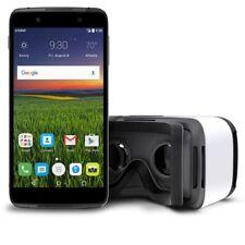 """ALCATEL OneTouch IDOL 4 Sbloccato Telefono Cellulare 4G 5.2"""" display con Cuffie VR"""