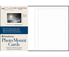 Strathmore Photomount Cards Deco White Pk/100