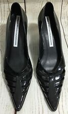 Melissa For Alexandre Herchcovitch Black Jelly Wedge Heels Shoes US Size 5