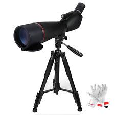 "Eyeskey EK8388 20-60x80mm Prism Spotting Scope + ZOMEI Q111 55"" Tripod for DSLR"