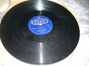 Memories are Made of This / I've Changed my Mind a Thousand Times Decca 78 Rpm