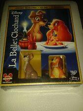La Belle et le Clochard - Combo Blu-ray + DVD + 2 figurines - neuf ss blister