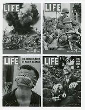 LIFE MAGAZINE 50TH ANNIVERSARY VIETNAM COVERS ORIGINAL 1986 ABC TV PHOTO