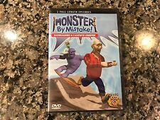 Monster By Mistake! New Sealed Dvd! 2004 Two Episodes! Rupert Redwall Birdz