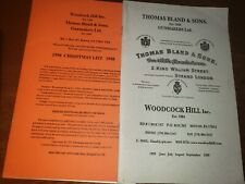 Thomas Bland & Sons gunmakers   catalogs and christmas catalog  90's