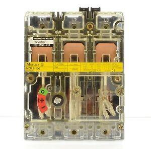 Moeller NZM6-100 +U24V-50Hz Leistungsschalter100A 3polig