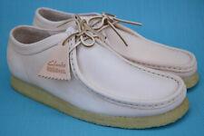 Clarks Originals BNIB Mens Shoes WALLABEE Natural Tan Leather UK 10.5 / 45