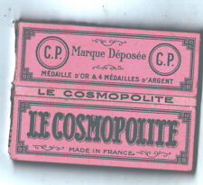 LE COSMOPOLITE Papier à cigarette neuf C. PRADON