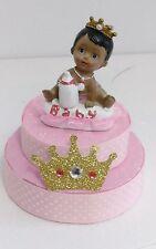 PRINCESS CROWN GIRL BABY SHOWER BIRTHDAY CAKE TOPPER CENTERPIECE  DECORATION
