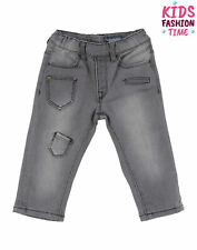 Rrp €115 Aston Martin Denim Trousers Size 12-18M Elasticated Waist