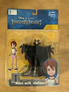 KAIRI & MALEFICENT Kingdom Hearts Figure Mirage Disney Squaresoft NIB