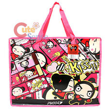 "Pucca and Garu Reusable Tote Beach Duffle Bag Grocery Bag -21"" XL"