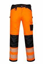 Portwest Workwear PW3 Hi-Vis Work Trousers PW340
