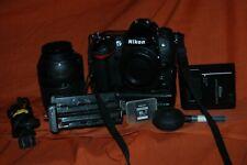 Nikon D D7000 16.2MP Digital SLR Camera w/Nikon 18-140mm,grip,bag,Near MINT+more