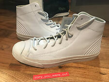 Converse Jack Purcell Mid Quilt 'Motorcycle' QS UK 8 US 9 White