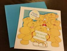 HALLMARK FOREVER FRIENDS Congratulations! You Did It! card with envelope new