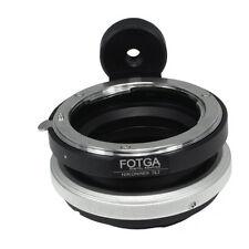 FOTGA Tilt Nikon F Lens to Sony E-Mount Adapter NEX3 NEX-5/5N/5R NEX-7 NEX-VG10