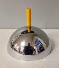 Machine Age Art Deco Revere Rome NY Catalin Bakelite Chrome Cheese Dome