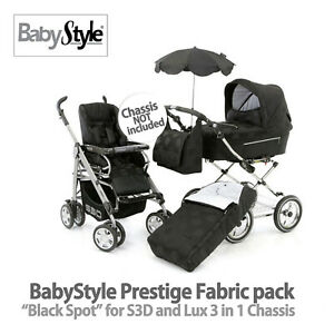 New BABYSTLE PRESTIGE Full Set - Black Spot For LUX Or S3D Chassis Not Included