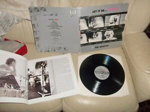 THE BEATLES LET IT BE NAKED WITH BOOKLET PLAYS  MINT SINGLE IS MISSING STILL FAB