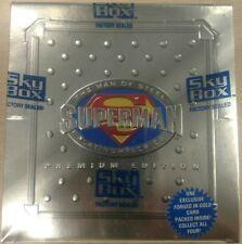 Superman MAN OF STEEL PLATINUM PREMIUM EDITION Factory Sealed Case - 10 Boxes