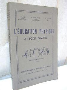 l' EDUCATION PHYSIQUE à l'école primaire avec figures