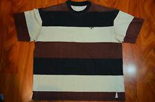 Vintage Guess Jeans Usa Asap Script Striped T-Shirt Men's Size Large