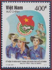 VIETNAM N°1971** Jeunesse Communiste, 2001 Vietnam 3043 Ho Chi Minh MNH