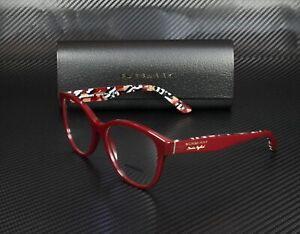 BURBERRY BE2278 3742 Bordeaux Demo Lens 54 mm Women's Eyeglasses
