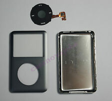 Grey iPod classic 7th 160GB back cover + front case+clickwheel replacement kit