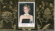 THE GAMBIA PRINCESS DIANA UNUSED MINIATURE SHEET  MY REF 372