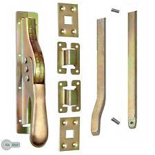 1 Set Tortreibriegel Torverschluss Türtreibriegel Stangen 2540 mm Vierkant 14 mm