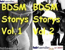 * BDSM Storie vol. 1 & VOL. 2 ebook EROTIC Stories erotico sesso foto e-licenza *