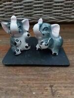 Pair Of Vintage Ceramic Elephants