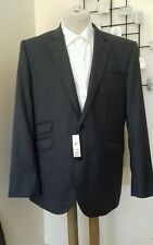Grey Flannel With Cashmere Blazer/Suit Jacket By John Lewis BNWT - 40 Short