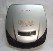 SONY DISCMAN D-191 Portable Personal CD Player Vintage Tested Works