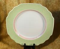 Villeroy Boch CASCARA *NEW* w/Sticker Crackle Dinner Plate Pink White Green