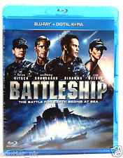 Battleship Blu-ray + numérique copie Région B NEUF scellé RIHANNA Liam Neeson
