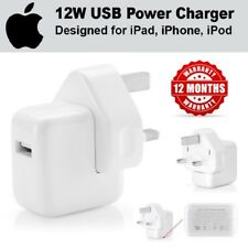 100% Autentico ufficiale di Apple 12 W adattatore di alimentazione USB caricabatteria da muro per iPhone iPad