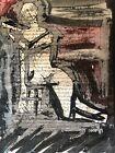 Lavis Dencre Le Corps Du Texte Signe Christophe Rodiac Art Contemporain