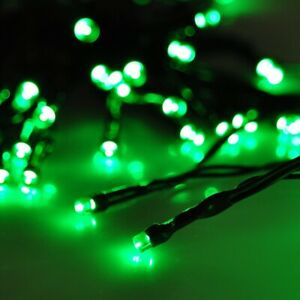 50M 500LED GREEN CHASING CHRISTMAS FAIRY LIGHTS WITH 8 FUNCTIONS & MEMORY