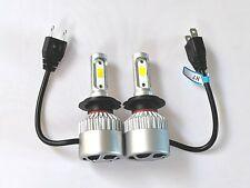 FITS AUDI A6 1998-2014  2x H7 Kit Car LED Head light Fog Bulbs PURE WHITE