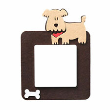 Dog/Puppy w/Bone Felt Light Switch/Thermostat Cover-Square Room Wall Decor-Cute!
