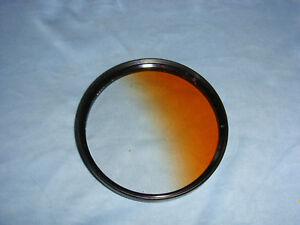 P&J 72mm Graduated Brown ND Neutral Density Filter for Canon Nikon