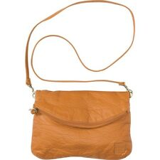 2015 NWT WOMEN'S BILLABONG ATLANTICE RIDEZ CLUTCH HANDBAG $43 caramel leather